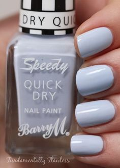 Absolutely LOVE this color!  Barry M Eat My Dust