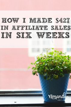 Affiliate sales are a great way to increase your income passively. Here's how I… Earn More Money, Make Money Blogging, Way To Make Money, Make Money Online, Saving Money, Blogging Ideas, Money Tips, Affiliate Marketing, Business Coach