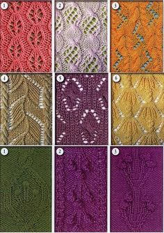 knitting Patterns @Af's Collection