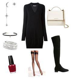 """""""Sexy"""" by lalouve357 on Polyvore featuring MANGO, Federica Tosi, Carbon & Hyde, Givenchy, Maison Margiela and Sole Society"""