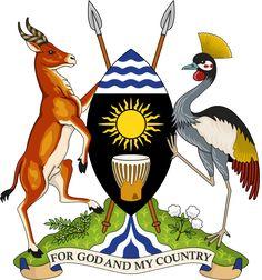 File:Coat of arms of the Republic of Uganda.
