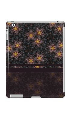 """Pattern ""Abstract flowers"""" iPad Cases & Skins by floraaplus 