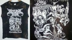 Death Metal TShirt / Black Metal / Graphic / Indie / Grunge /RockNRoll/ Skull / Satan / Baphomet / Grim Reaper / Unisex / Women / Men / Guys