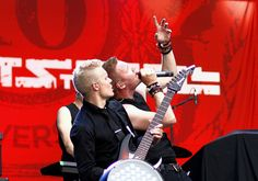Marko Saaresto and Olli Tukiainen from finnish rock-band Poets of the Fall on ParkLive in Moscow, Russia. Poets Of The Fall, Music Tv, Perfect Man, Rock Bands, In This World, Actors & Actresses, The Darkest, Lyrics, Guys