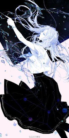 Ilustrator Ini Menggambar 12 Zodiak Sebagai Gadis-Gadis Berseragam Sailor Moss - Virgo