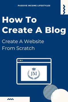 Would you like to create a website from scratch but you are not sure how to get started? Check out my step by step guide on how to create your high converting website in just a few hours. Everything you need to know about creating your unique blog or website on your own - STEP BY STEP BEGINNERS GUIDE. Follow #PassiveIncomeLifestyles for more great content on how to make money online, affiliate marketing and passive income #onlinebusiness #blog #website #design #workfromhome #business… Make Money Blogging, How To Make Money, People Online, I Need To Know, Online Entrepreneur, Seo Tips, Creating A Blog, Digital Nomad, Blogging For Beginners