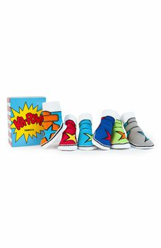 Trumpette 'Ka Pow' Socks Gift Set (Infant) | Nordstrom