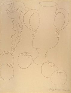 Henry Matisse - Still Life. Peaches and Jug