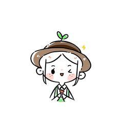 Cute Little Drawings, Cute Easy Drawings, Kawaii Drawings, Kawaii Doodles, Cute Doodles, Loli Kawaii, Kawaii Anime, Dibujos Toy Story, Cute Kawaii Animals
