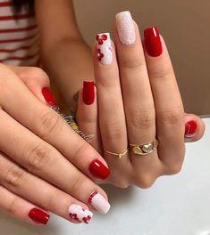 Rose Gold Nails, Pink Nails, Cute Nails, Pretty Nails, Romantic Nails, Fall Nail Art Designs, Floral Nail Art, Luxury Nails, Stylish Nails