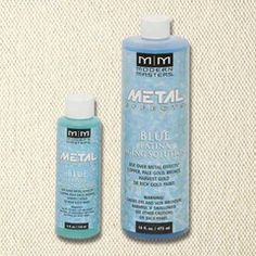 4 oz Modern Masters Blue Patina Aging Solution