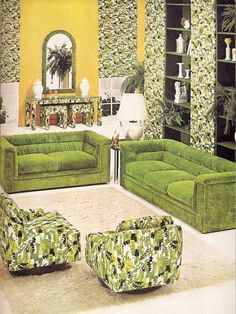 I know....it's ugly...but I love it.   We had a similar room in my childhood home.