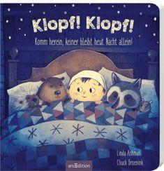 <p>Auf der Suche nach einem warmen Unterschlupf klopft ein Tier nach dem anderen an Tills Tür.<br />Und der kleine Junge mit dem großen Herzen hat für alle einen Platz! <br />Doch schließlich ist sein Bett voll und ein weiterer ...