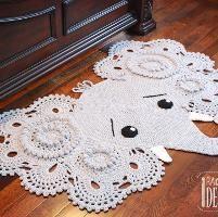Josefina - Jeffery Elephant Rug Pattern