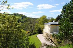 Greenway House, Agatha Christie's holiday home, at the English Riviera in Devon