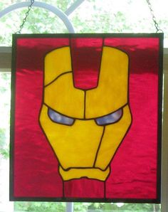 iron man stained glass xmas tree - Google Search