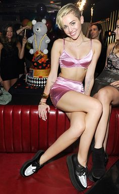 The outfit she wore for bangerz.. And my bday