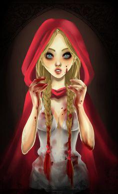 Pin by Ulanda on Little Red Riding Hood t Sexy cartoons Dark Disney, Disney Love, Disney Art, Horror Cartoon, Charles Perrault, Red Ridding Hood, Gothic Fantasy Art, Twisted Disney, Wolf Love