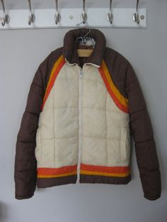 Vintage 1970's Men's Retro Weather Tamer Mod Ski Jacket from Montgomery Ward