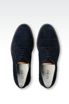 10 modelli di Armani Jeans scarpe uomo estate 2014: sneakers, mocassini e derby moderne