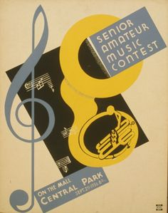 Senior amateur music contest On the mall, Central Park : Sept. 29 - 1936 8:15 p.m. | Library of Congress