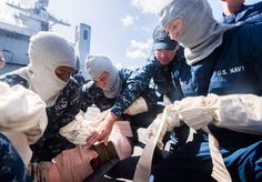 Part of your training as a Hospital Corpsman includes mass-casualty drills. These simulations place Corpsmen in a realistic training scenario, with fellow Sailors posing as injured victims. #Navy #USNavy #AmericasNavy navy.com