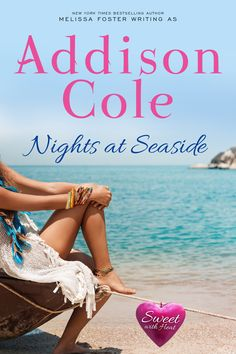 Dive into the Newest Sweet with Heat Romance! NIGHTS AT SEASIDE Sweet with Heat: Seaside Summers Addison Cole Releasing Dec 2017 Sky Lacroux has finally realized her dream and opened her own tattoo shop in Provinc Fantasy Authors, Book Week, Romance Novels, Bestselling Author, Audio Books, The Fosters, Seaside, Good Books, Night