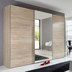 Three Door Sliding Closet