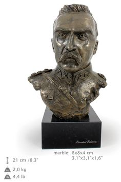 Józef Piłsudski famous polish people limited by ArtDogshopcenter