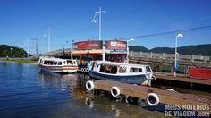 Terminal do barco para a Costa da Lagoa no centrinho da Lagoa da Conceição - Florianópolis