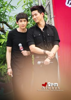 Tao Kae Noi Hottest & Spicy with 2PM - Nichkhun & Taecyeon