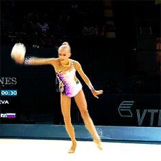 Yana Kudryavtseva, Ball Event Final, WCH Kiev 2013
