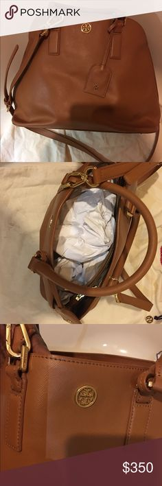 Tory Burch bag NWOT Tory Burch bag NWOT.   Width is 15 1/2  and 11 inches from top bottom. Comes with dust bag. Tory Burch Bags Shoulder Bags