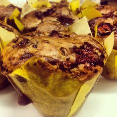 Strawberry Bran and Almond Bran Muffins - Healthy