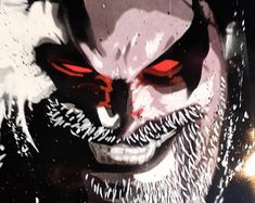 Spray Art By Joe by SprayArtByJoe on Etsy Comic Book Characters, Comic Books, Fictional Characters, Halloween Face Makeup, Batman, Superhero, Comics, Etsy, Vintage