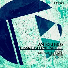 Good morning my friends! Hope you're feeling great!  Here is the cover of my upcoming EP on Fresh04 Recordings!