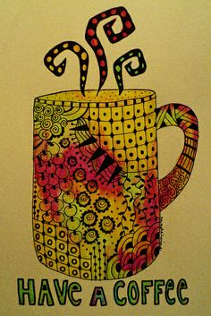 Coffee tangle (10 x 15 cm) | Flickr - Photo Sharing!