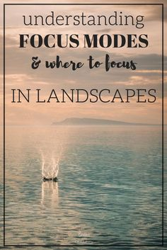 A simple explanation of Focus Modes (One-Shot, AI Servo & AI Focus) in photography + tips to help decide what to focus on in landscapes. Tips on where to set your focus in your landscapes to make sure your photo tells the story you want it to. Dslr Photography Tips, Photography Tips For Beginners, Photography Lessons, Outdoor Photography, Photography Tutorials, Photography Photos, Creative Photography, Digital Photography, Nature Photography