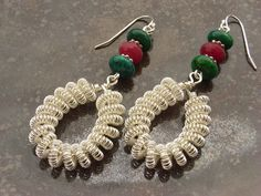 coiling gizmo jewelry | Handmade Monday: Poppies, gizmos and more wire work