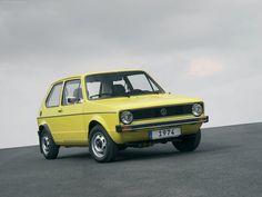 История VW Golf c 1974-2013