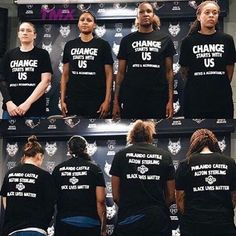 @minnesotalynx We have to show some respect to these women. More of our athletes need to use their voice for positivity.