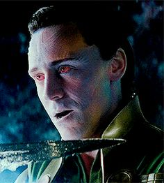 Loki freezes Heimdall - some little brother you got there Thor....I like eem!