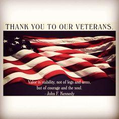 #HappyVeteransDay #VeteransMatter all year long not just #VeteransDay!