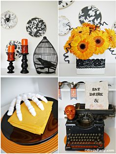 Halloween Styling from Bird's Party Blog