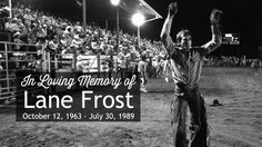 Lane Frost 25 Years in 25 Days Rodeo Cowboys, Real Cowboys, Lane Frost Quotes, July In Cheyenne, Cute Country Boys, Country Life, Country Living, Cheyenne Frontier Days, Rodeo Time
