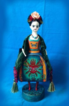 новая куколка ФРИДА -6 . куклы для Фриды - Ярмарка Мастеров - ручная работа, handmade