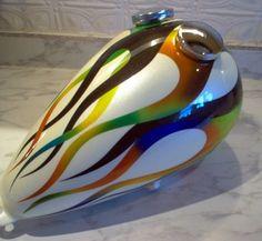 m/c gas tank art -