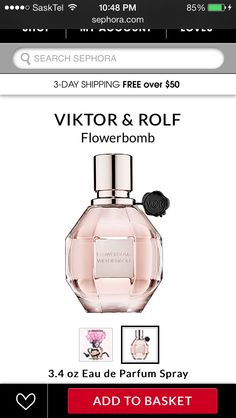 Absolutely adore this perfume! (Sephora)