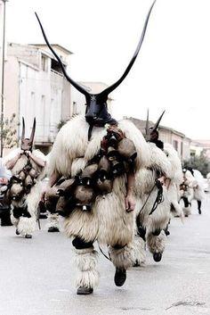 Sardinia Fesitval of Mamuthones