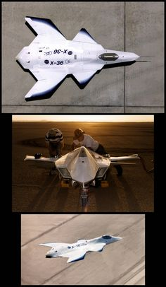 Boeing X-36: Successful prototype of tailless fighter designed to improve the maneuverability/survivability of future aircraft [Boeing: http://futuristicnews.com/tag/boeing/ Future Airplanes: http://futuristicnews.com/tag/aircraft/ Military: http://futuristicnews.com/tag/military/ DARPA: http://futuristicnews.com/tag/darpa/]